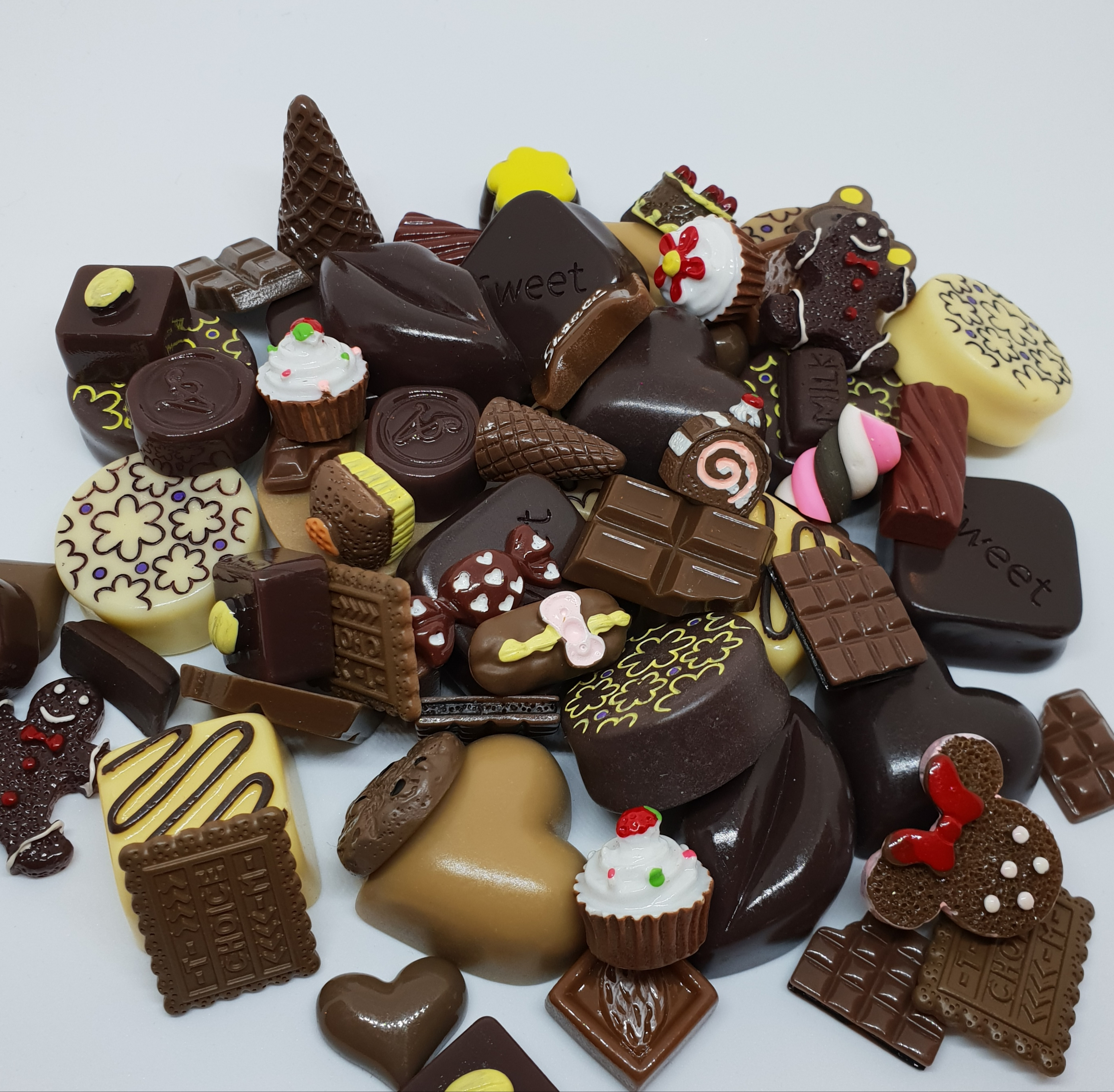 Image of   Chokolade Charms (5 stk.)