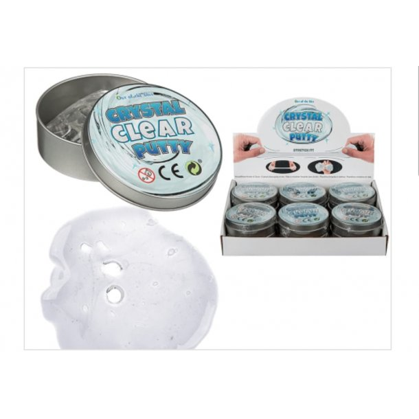 Crystal Clear Putty slim