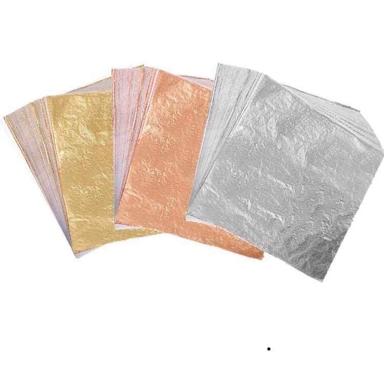 Leaves (guld, sølv, bronze) 3 stk. i en pakke