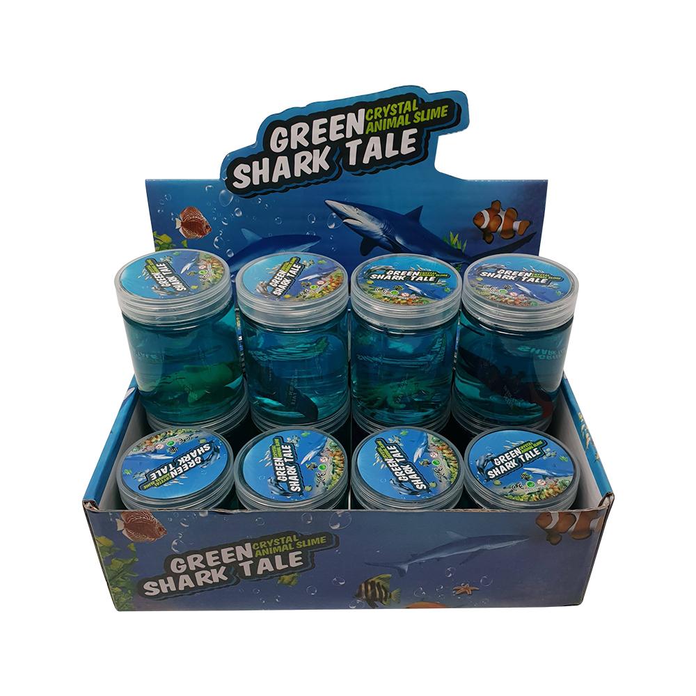 Billede af Green Shark Tale Crystal Slime (køb 3 stk. betal for 2 stk.)