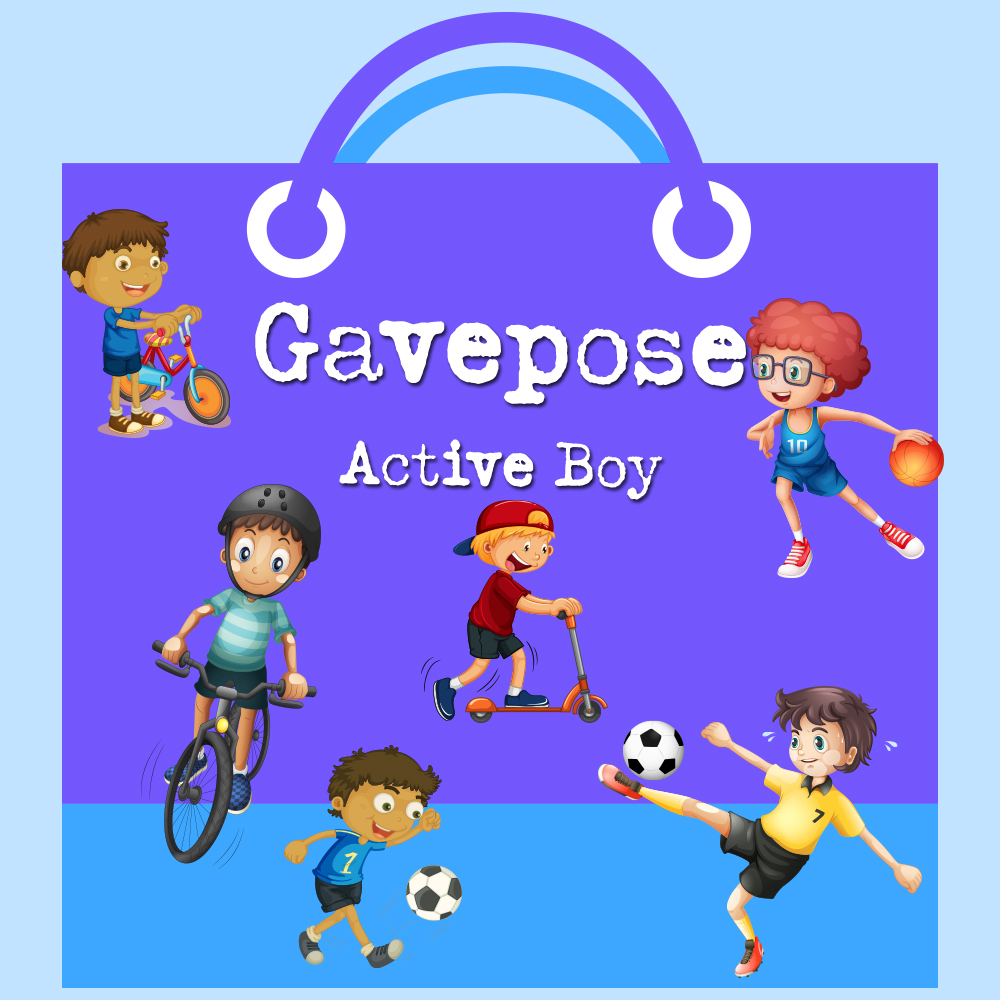 Image of   Active Boy Gavepose