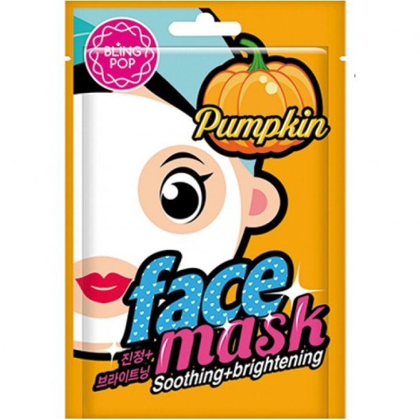 BLING POP Pumpkin Soothing & Brightening Mask