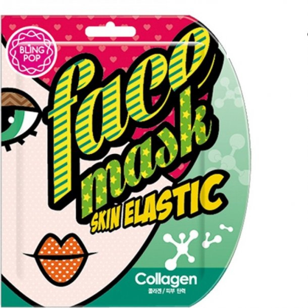 BLING POP Collagen Skin Gel Mask