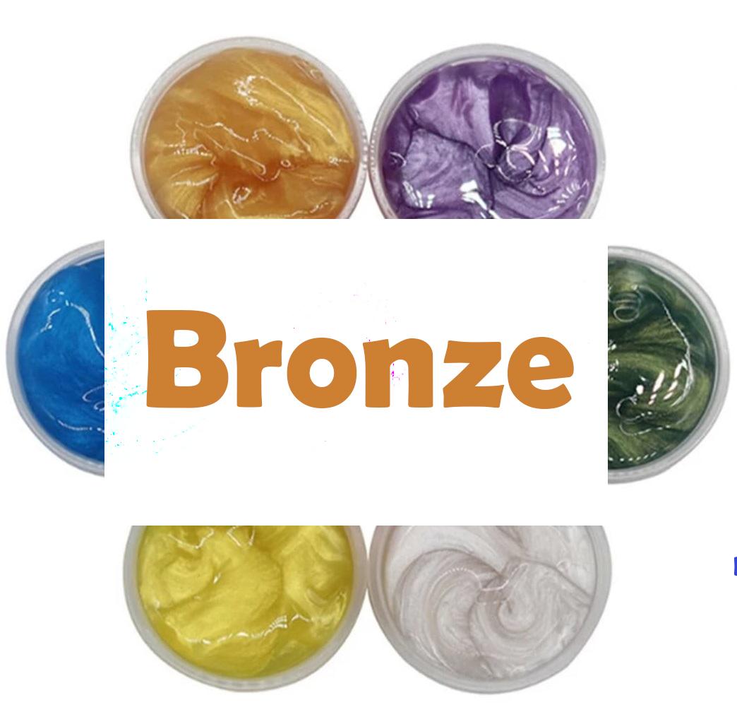 Farvepulver til slim (Bronze)
