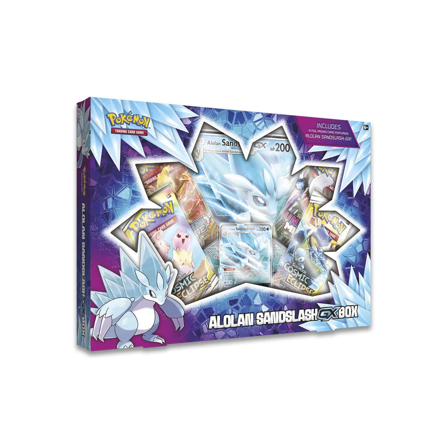 Image of   Pokémon - Alolan Sandslash-GX Box