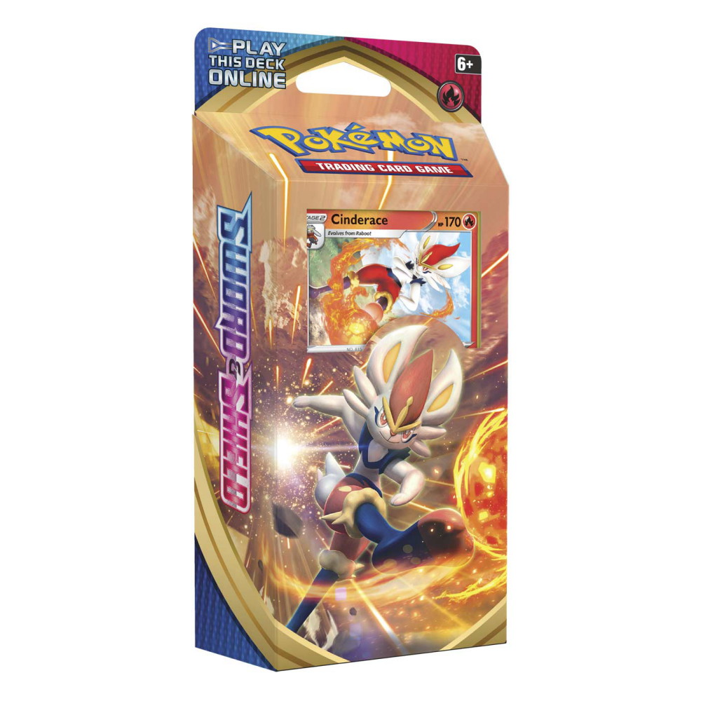 Image of   Pokemon Sword & Shield Theme Deck Cinderace