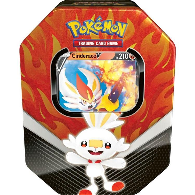 Image of   Pokémon - Spring Tin - Cinderace V