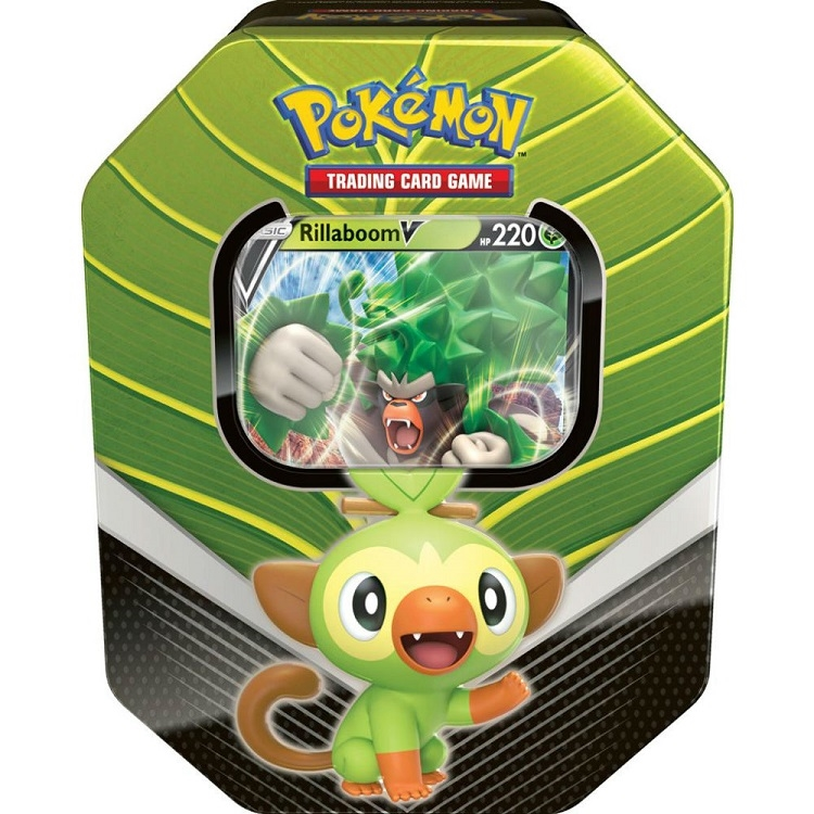 Image of   Pokémon - Spring Tin - Rillaboom V