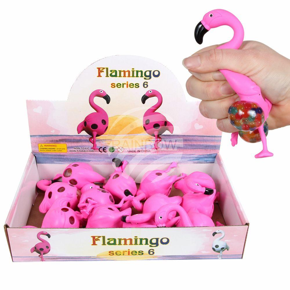 Fidget Toys: Klemme Flamingo - Ca.9 cm