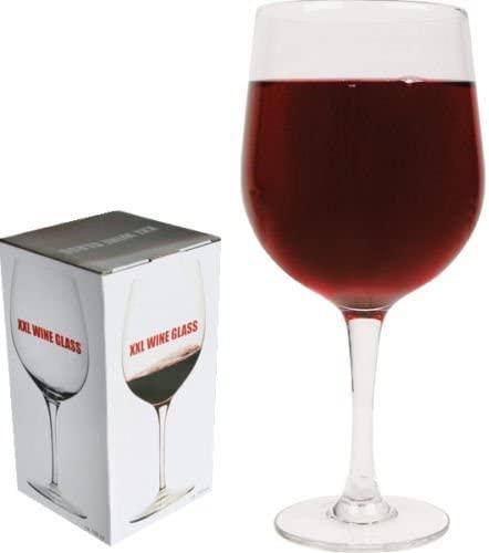 Image of   XXl vinglas (750 ml) - kan indeholde en helt flaske vin