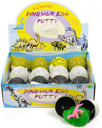 Image of   Dinosaur egg putty