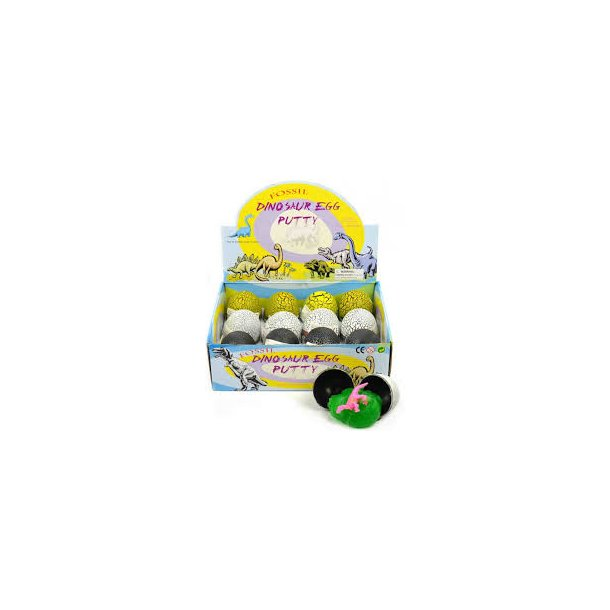 Dinosaur egg putty