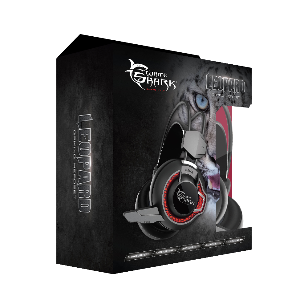 Image of   Leopard Gaming Headset