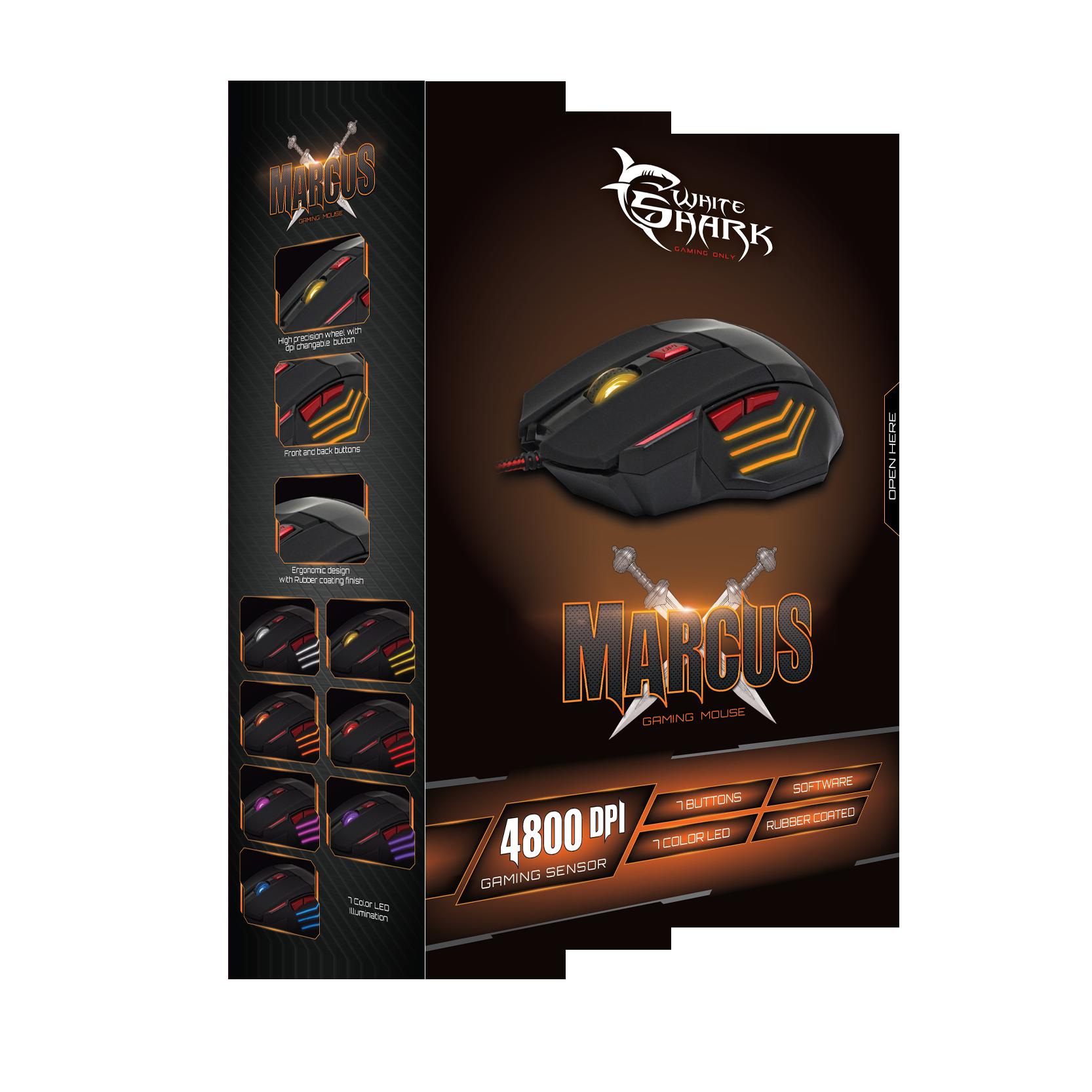 Image of   Marcus Gaming Mus (4800 DPI)