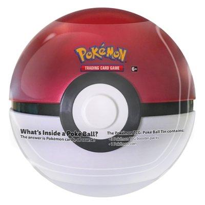 Image of   Pokémon - TCG - PokéBall, Rød/Hvid