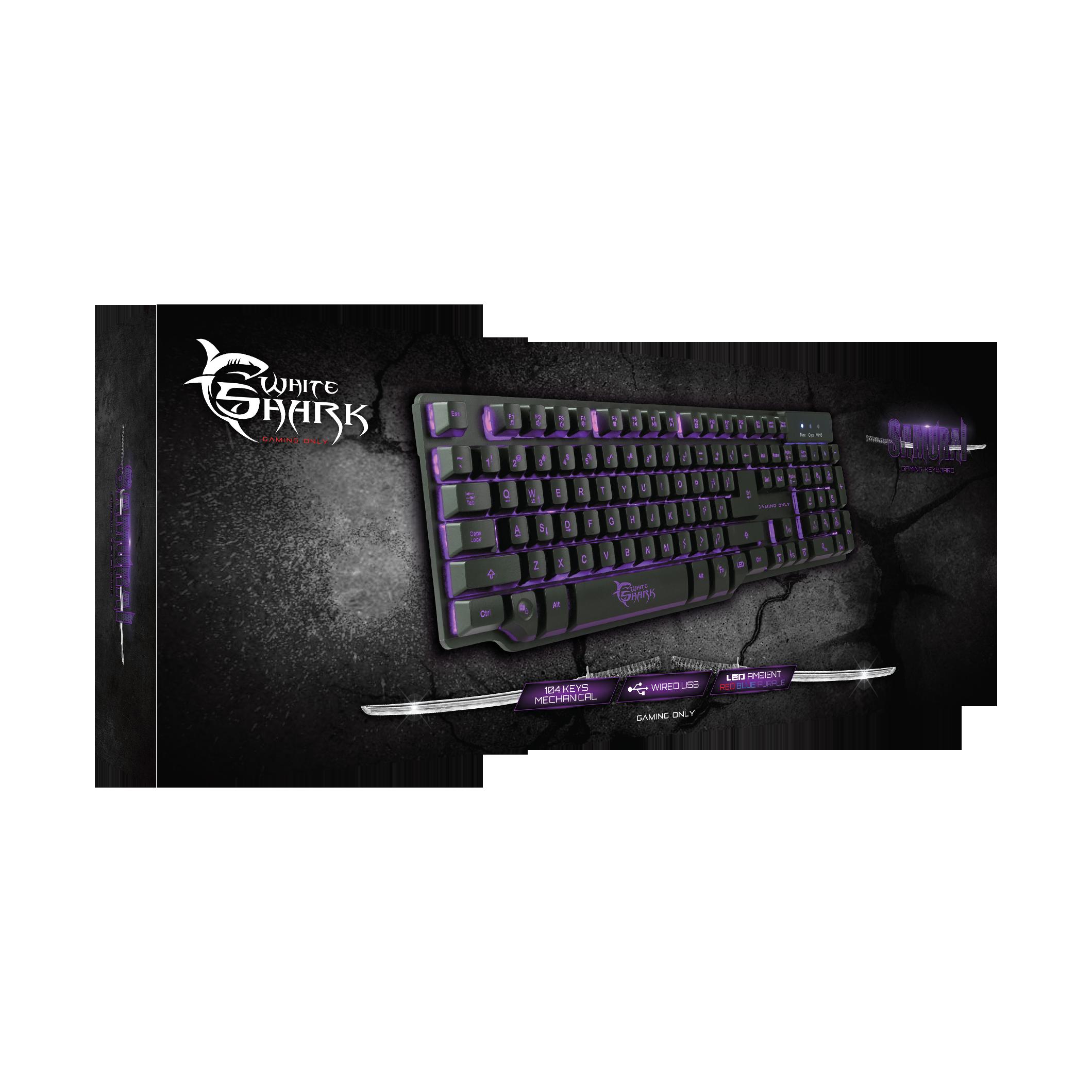 Image of   Samurai Gaming Keyboard