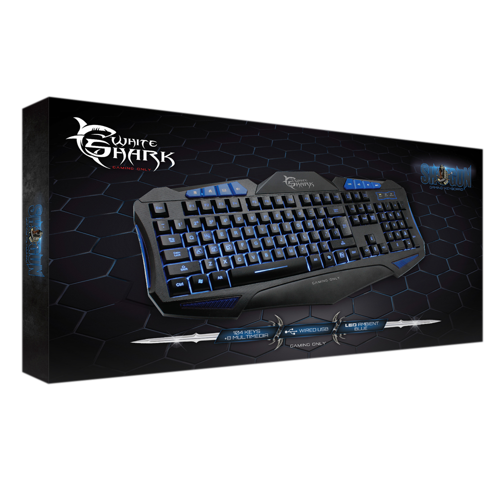 Image of   Shogun Gaming Keyboard